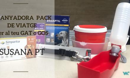 Guanyadora del Pack de Viatge per al teu gos o gat