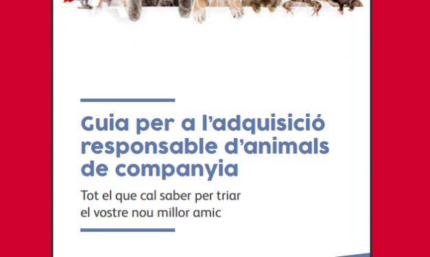 Guia per a l'adquisició responsable d'animals de companyia