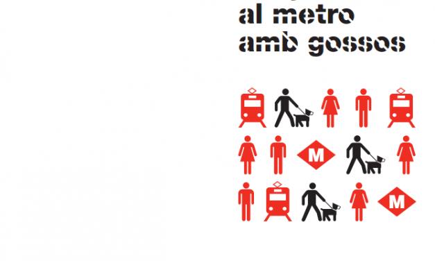 Viatjar al metro amb gossos a Barcelona