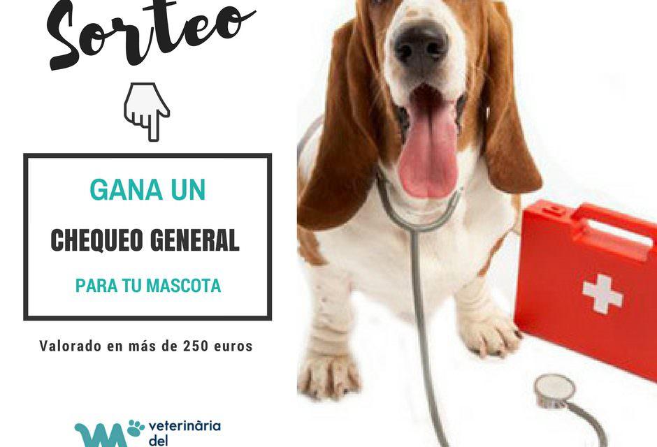 Sorteo especial en nuestra página de Facebook: Gana un chequeo para tu mascota valorado en más de 250€