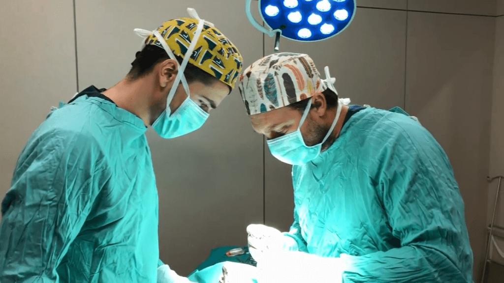 Oncologia veterinaria Barcelona quiròfan