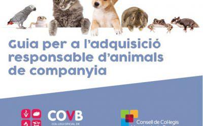 Guía para la adquisición responsable de animales de compañía del COVB