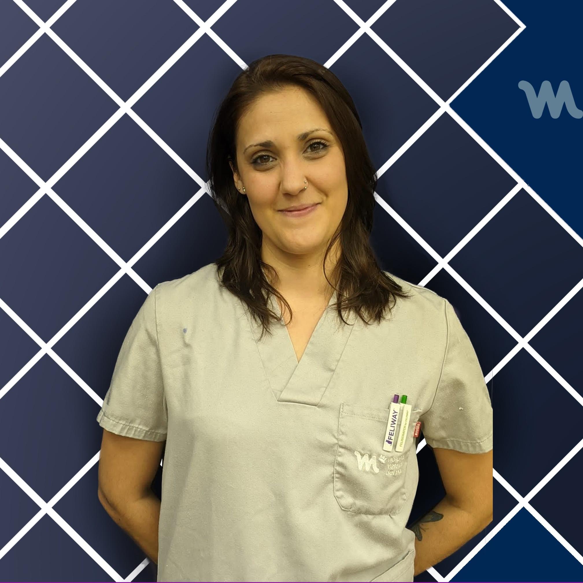 Recepción Hospital Veterinario del Mar | Soraya de la Fuente